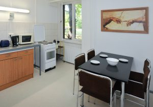 Pension Schwalbenweg nahe Flughafen Schönefeld - Küche Haus 6